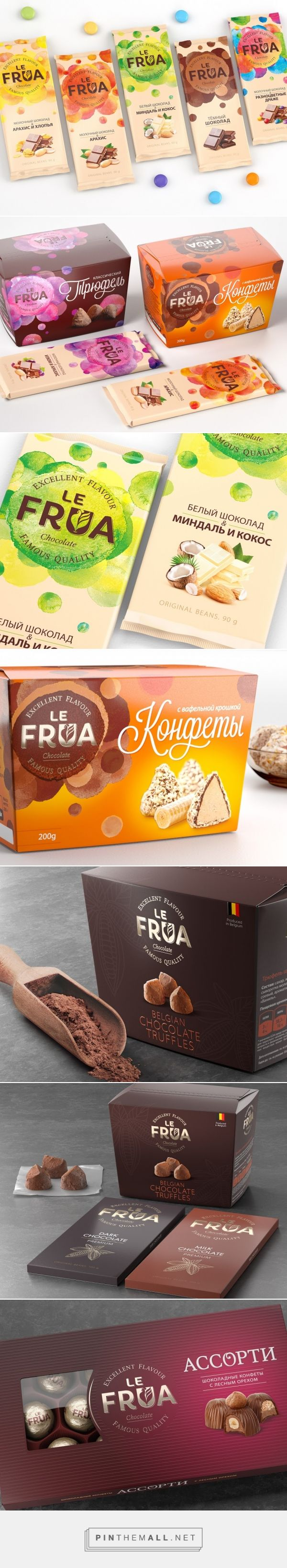 Le Frua Redesign - Packaging of the World - Creative Package Design Gallery - http://www.packagingoftheworld.com/2016/05/le-frua-redesign.html