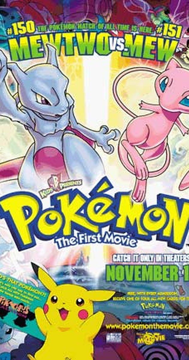 Directed by Kunihiko Yuyama, Michael Haigney.  With Veronica Taylor, Rachael Lillis, Eric Stuart, Jay Goede. Scientists genetically create a new Pokémon, Mewtwo, but the results are horrific and disastrous.