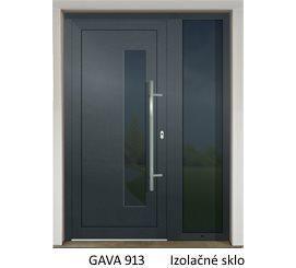GAVA 913 Anthrazit vstupné dvere