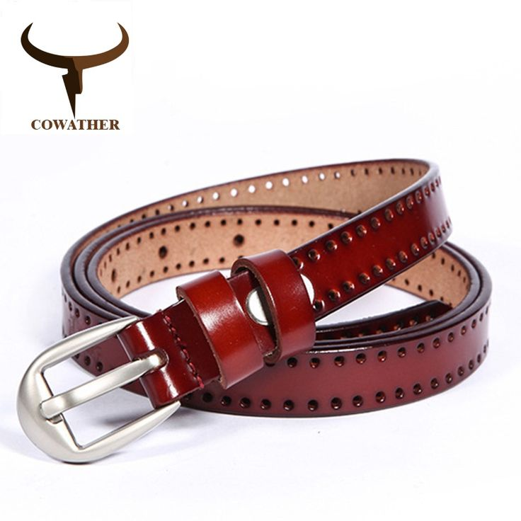 New Vintage Style Genuine <b>Leather Belt</b> For Women | Leather ...