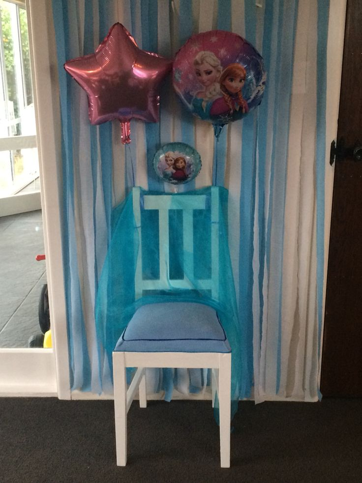 Frozen party chair