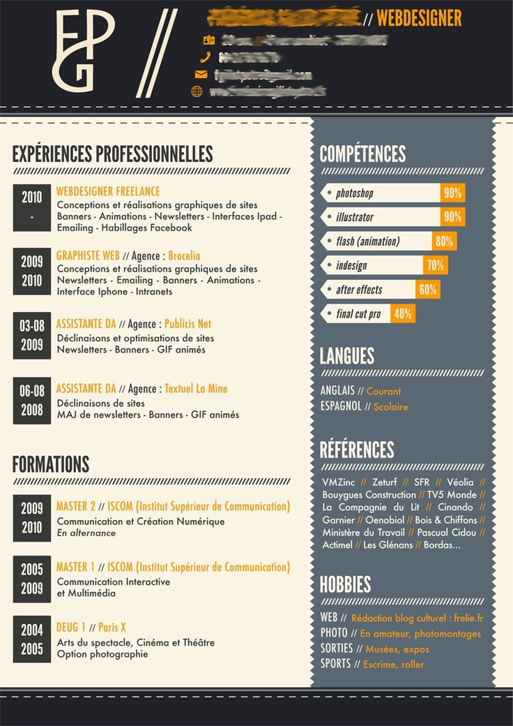 Resume Sites Best 53 Best Cv Images On Pinterest  Cv Template Resume Templates And .