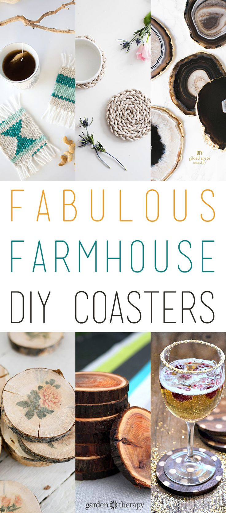 Fabulous Coasters with a Farmhouse Look!  Perfect for gifts and for your personal home decor.  Holidays are coming...stock up!