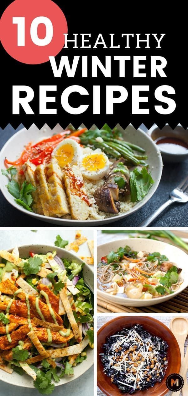 Healthy Winter Recipes and Tips