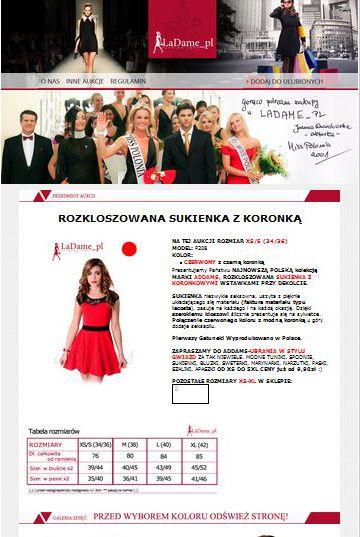 Wykonujemy #indywidualne #szablony na #ebay lub #allegro. Projekt szablonu dla firmy odzieżowej. Przedstawiamy przykład aukcji przez nas zaprojektowaną z infografikami. Pełna #obsługa sprzedaży międzynarodowej. Zapraszamy do kontaktu 792 81 72 41, biuro@e-prom.com.pl