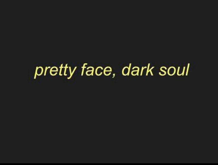 Pretty face, dark soul ⭐️