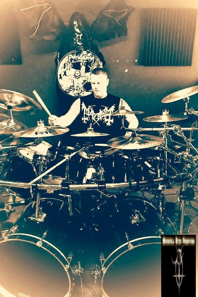 GALLERY Pt.I:  Putrid Christ (US)Dorjan behind the drumkit showi...