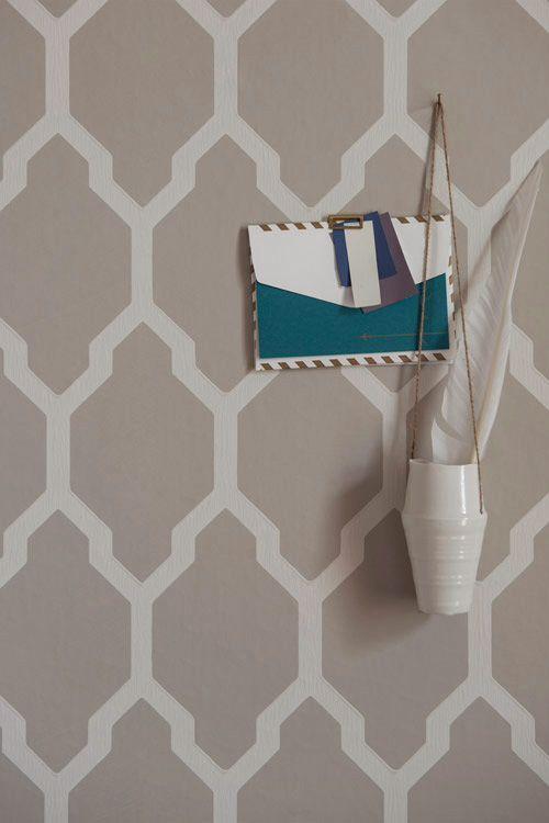 Tessella förslag tapet sovrum