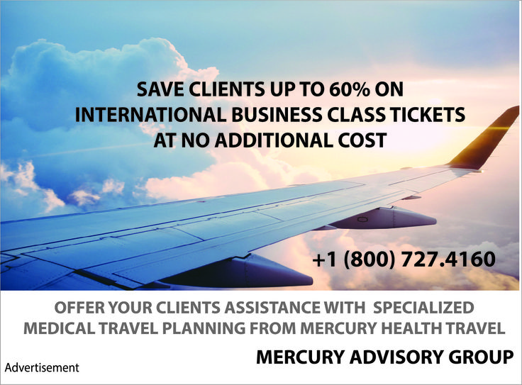 Mercury Health Travel Arranges Corporate Medical Travel Services in the USA and 106 countries