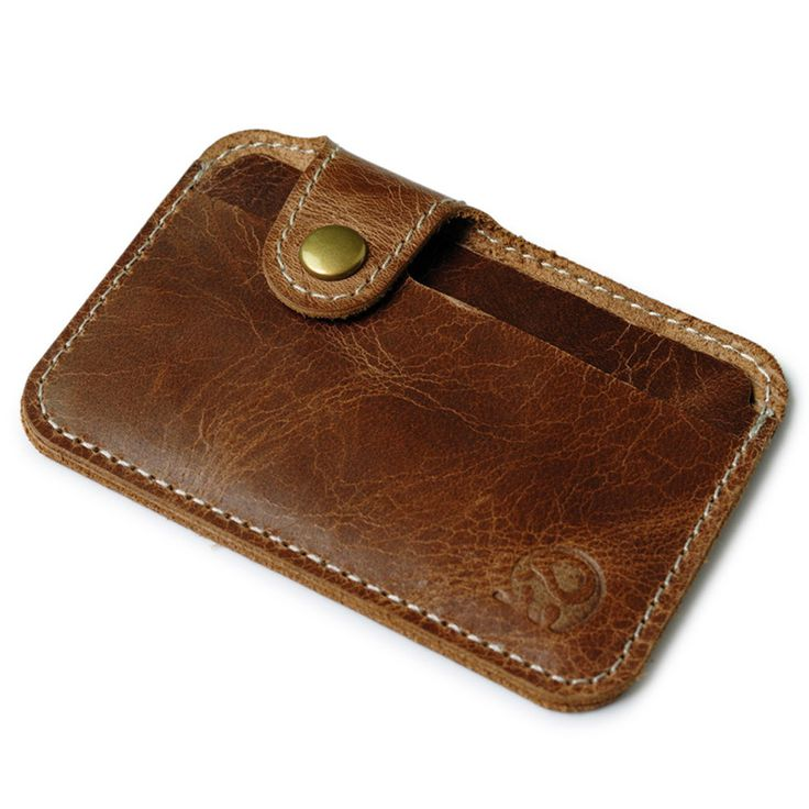 wallet men luxury brand Credit Card wallets brown Slim Mini Wallet ID Case Purse Bag Pouch  visiting card holder hot sale