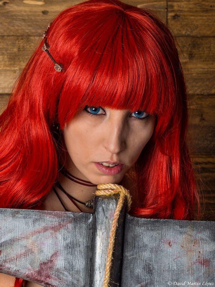 Red Sonja - Model / Modelo: Montse Cruz Character / Personaje: Red Sonja Photography and edition / Fotografía y edición: David Martín López