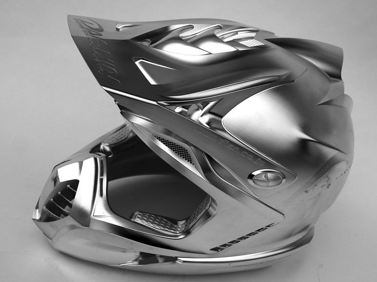 The grey collection: another image of the amazing helmet – programmed by hyperMILL