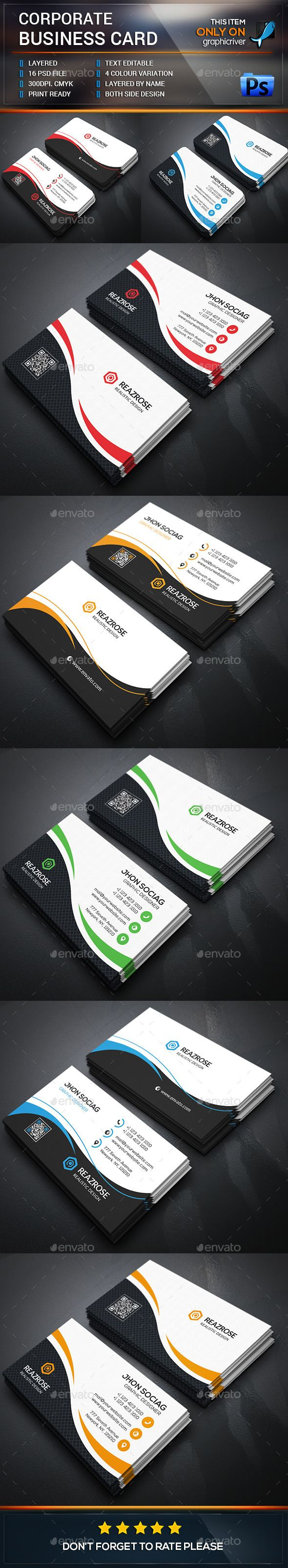 Best 14 Modern Business Card Designs Images On Pinterest Carte De