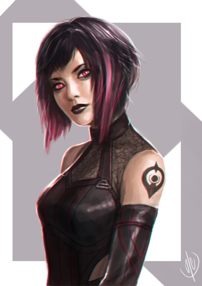 Nico Minoru by jaeon009 on DeviantArt