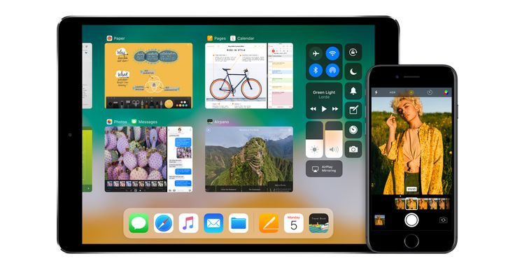 iOS 11  The latest operating system from Apple
