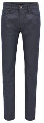 HUGO BOSS Diamond Print Cotton Jeans, Slim Fit Delaware 33/34Blue