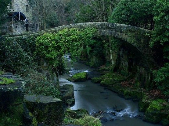 Stone bridge in Melbourne Australia  My Heart aches for this beauty