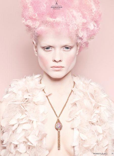 Photography by Monica Menez Fashion Editorial pastel sweet rose spring designer photography magazine soft Art light