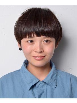 CLEAR of hair 栄南店【クリアーオブヘアーサカエミナミテン】 黒髪×マッシュショート