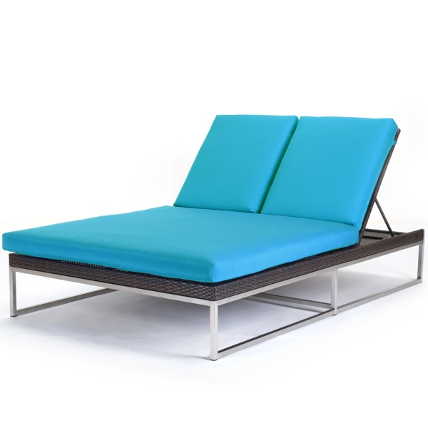 mirabella double chaise lounge by caluco patio furniture