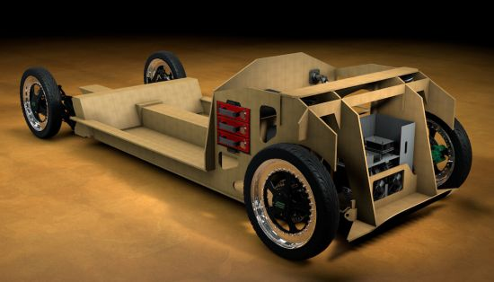Students of Eindhoven University of Technology are presenting bio-composite car
