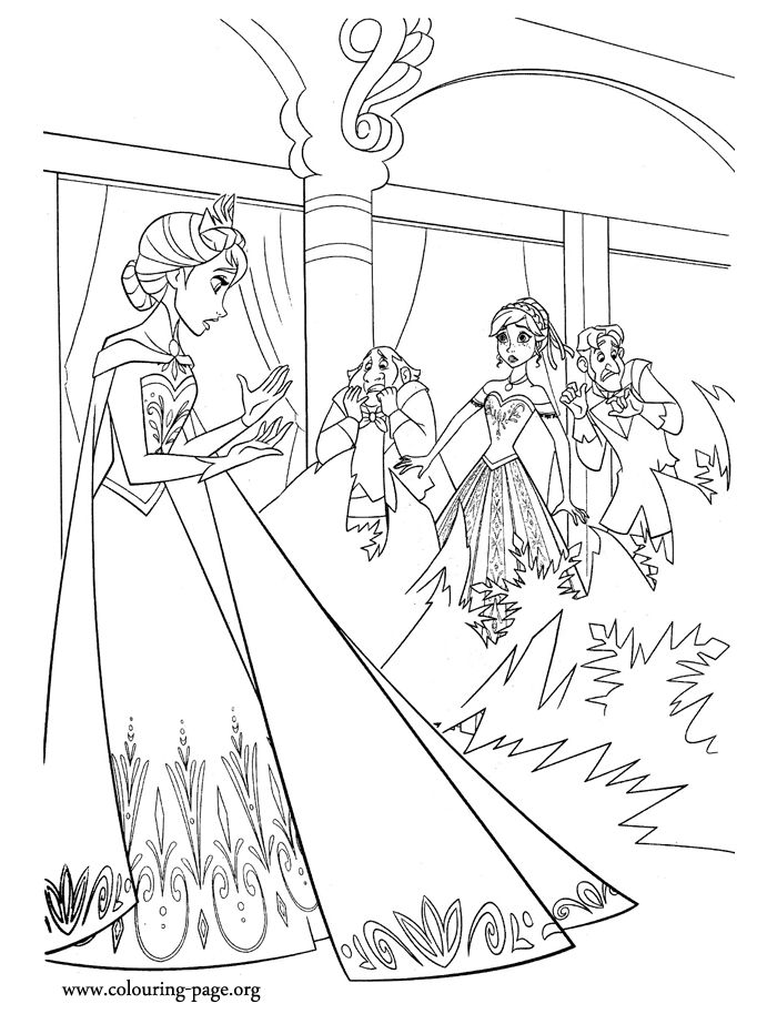 22 best FROZEN coloring sheets images on Pinterest | Coloring books ...