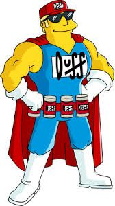 duffman costume - let's girl this up!!
