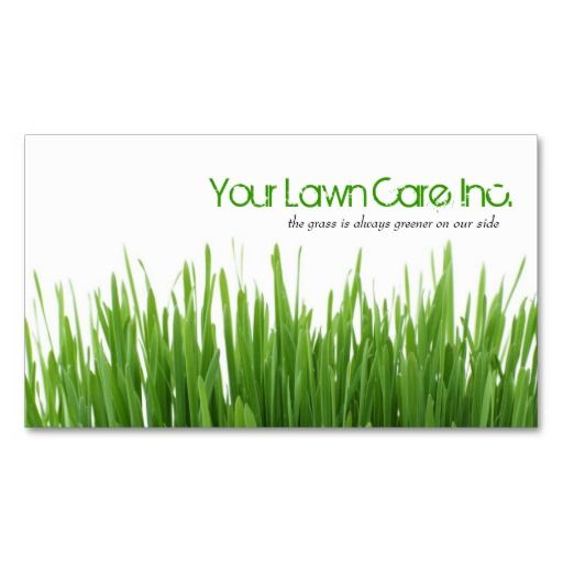 19 best business cards for landscaping lawn care landscapers