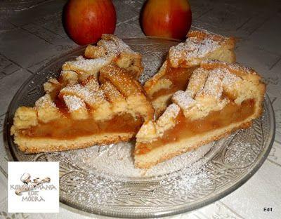 Receptek, és hasznos cikkek oldala: Mézes-fahéjas almatorta szeletek