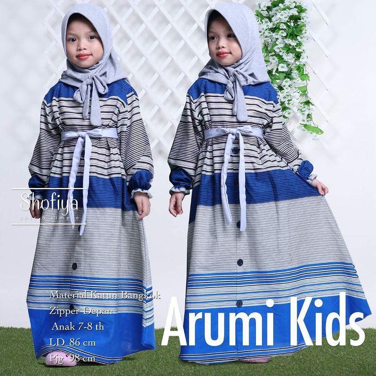 Arumi kids  Detail sdh Ada di picture yakak.. Dapatkan keuntungan tak terbatas dgn menjadi reseller kami.  Info n pemesanan: 62 81231356279 62 81231356445  #hijab #hijabfashion #syari#ballotelli#resellersolo #syarionline #ORIBYSHOFIYA #hijabhunt #fashionweek #bestfashion #hijabchic #chichijabs #bajumuslim #mukena #gamissyari #surabaya #pekanbaru #medan #yogyakarta #depok #bandung #banjarmasin #jember #padang #makasar #jakarta #balikpapan #palembang