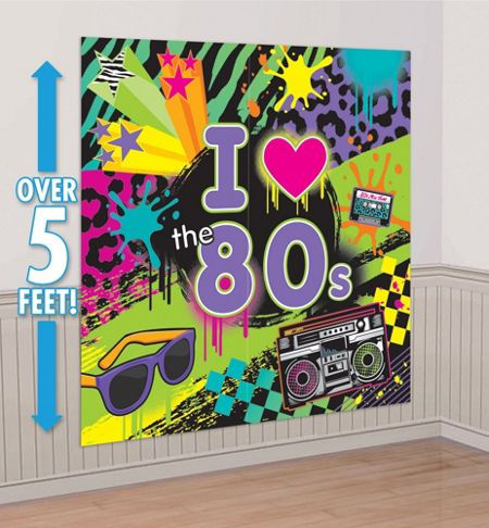 Totally 80s Party Supplies - 80s Theme Party - Party City