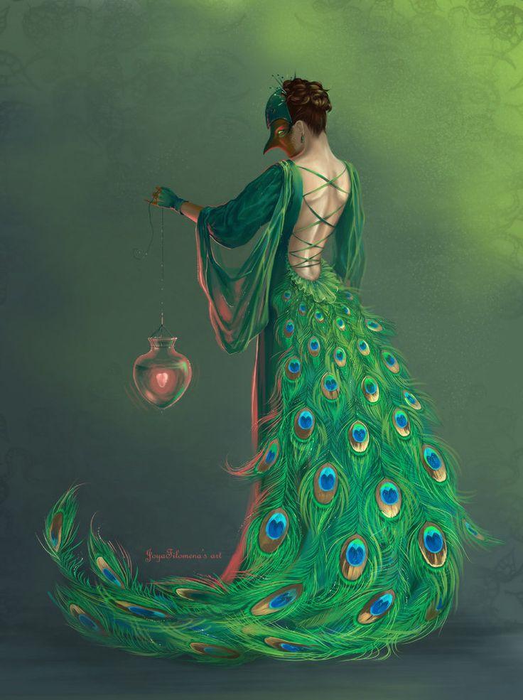Bird's heart by Joya-Filomena - Digital Art / Drawings & Paintings / Fantasy