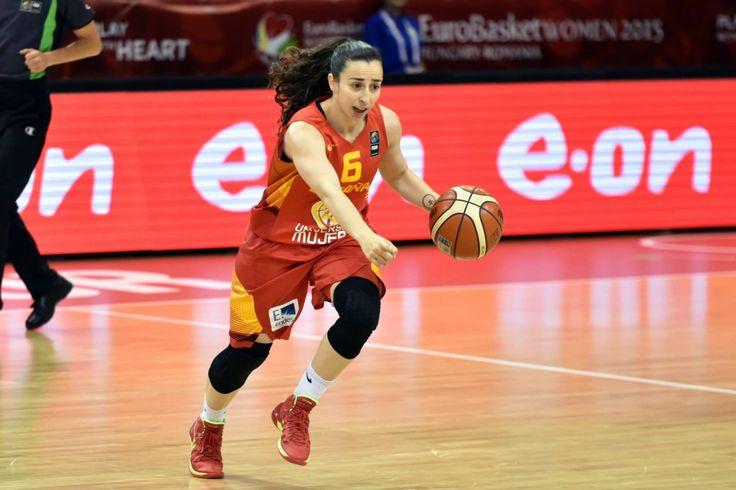 Eurobasket 2015 - Silvia Domínguez (Foto Facebook.com/FIBA)