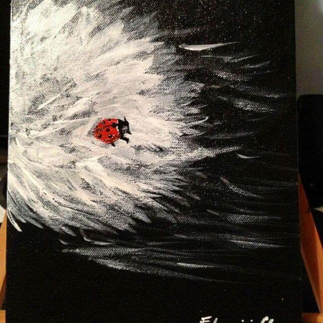 Wind Acrylic Painting