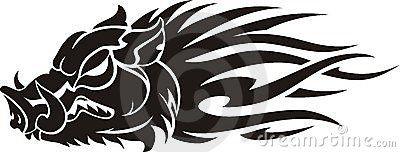 Wild Boar Flame by Quicksilver77