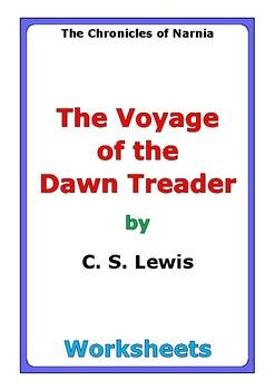 "This is a 52-page set of worksheets for the story ""The Voyage of the Dawn Treader"" by C. S. Lewis. This also includes a 4-page story test. For each set of two chapters (C1-C2, C3-C4, etc...), there are two worksheets: * comprehension questions * vocabulary and story analysis"