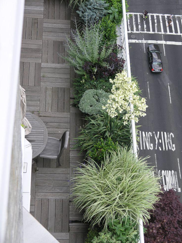 Plantation en bord de balcon