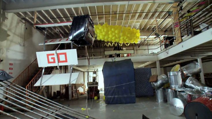 OK Go - This Too Shall Pass - Rube Goldberg Machine version - Official  Great timing!