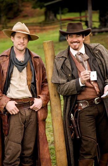 James Tupper and Dean Cain from The Gambler, The Girl and The Gunslinger.