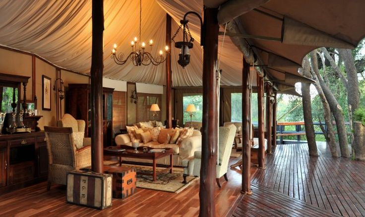 Tented luxury at Hamiltons Tented Safari Camp in Mpumalanga? Yes please!
