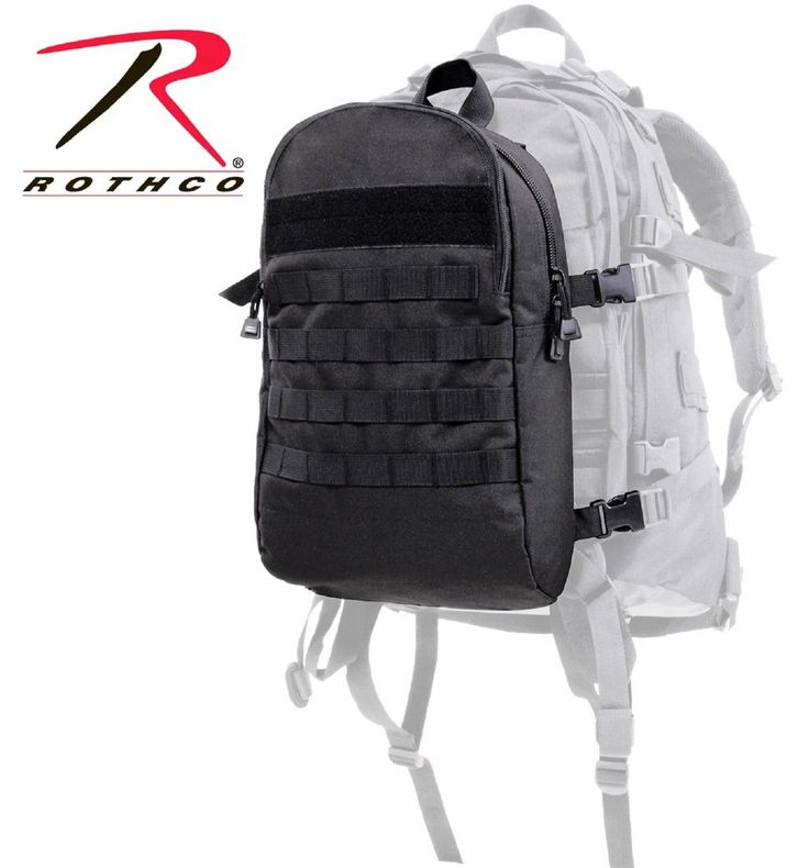 """Rothco Backup Connectable Backpack - 16"""" Versatile MOLLE Add-On Back Pack 28510"""