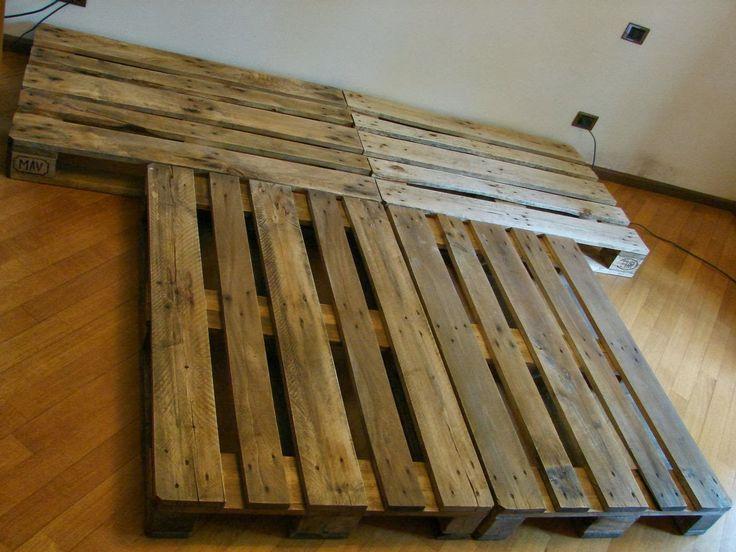 Oltre 25 fantastiche idee su costruire un letto su - Letto con pedane ...
