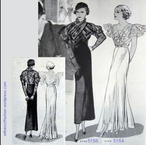 Butterick Starred Patterns Part 4: Katharine Hepburn and Helen Chandler