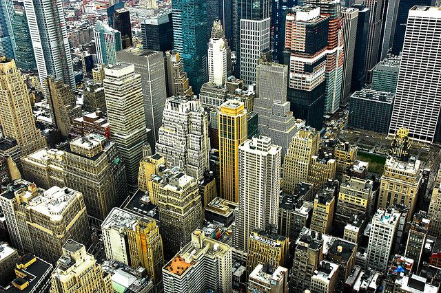 New-York USA - Manhattan by Manu Foissotte