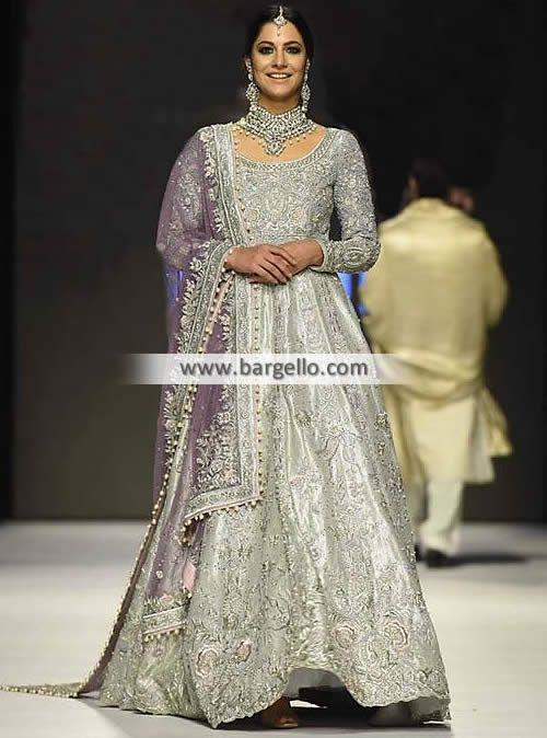 Stylish Anarkali Bridal for Gorgeous Brides Epitomize the timeless elegance of a bride wearing