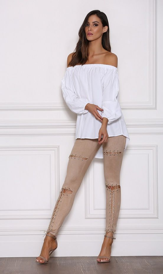 Image of Raven Pants - Taupe