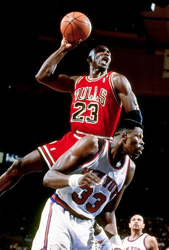 Today in 1986, Michael Jordan sets NBA playoff record with 63 points in a game.
