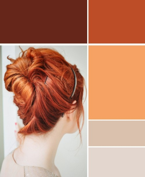 bringing your hair skin, and eye color into the wardrobe is an easy to way to make sure it suits you. don't worry about an exact match, but try to get the general tone.   (you can also go for the opposite color on the color wheel)