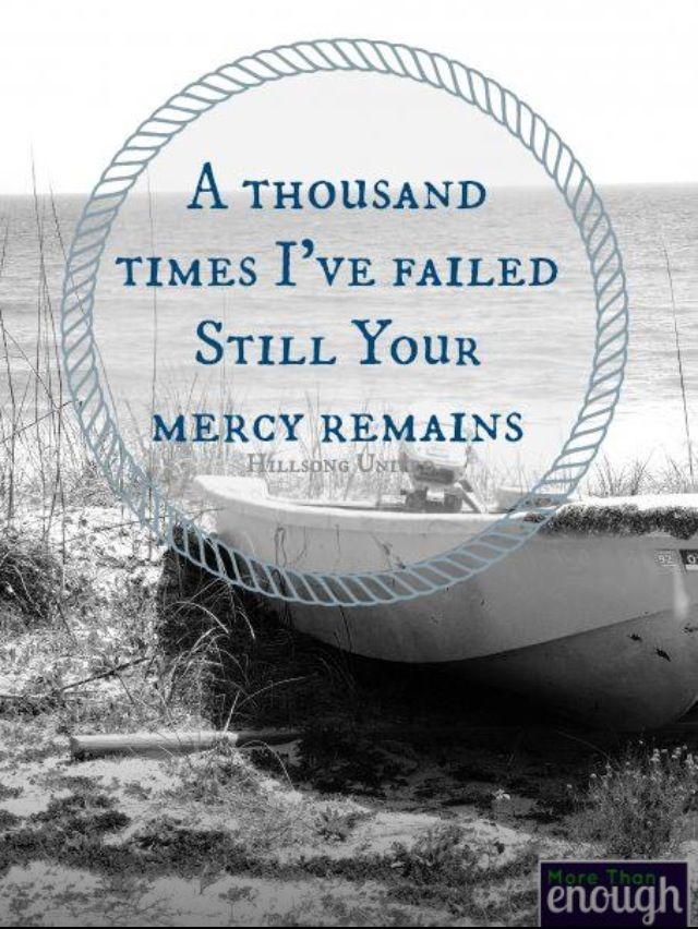 Lyric mercy mercy hillsong lyrics : 64 best images about Grace Quotes & Inspiring Stuff on Pinterest ...