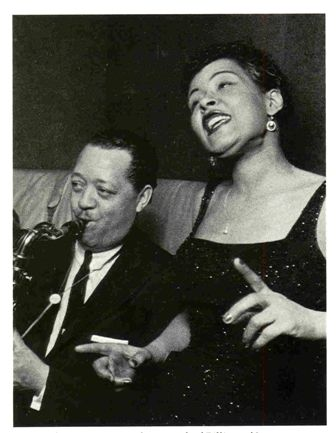 Billie Holiday and Lester Young - They adored each other